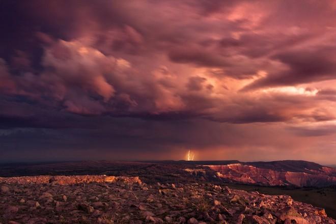 世界で撮影された雷や雷雲のすごい画像19