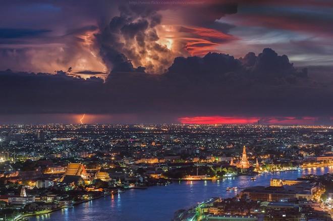 世界で撮影された雷や雷雲のすごい画像22