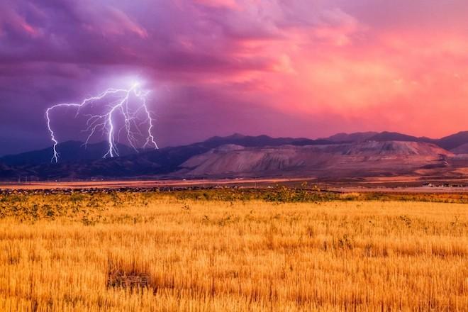 世界で撮影された雷や雷雲のすごい画像29