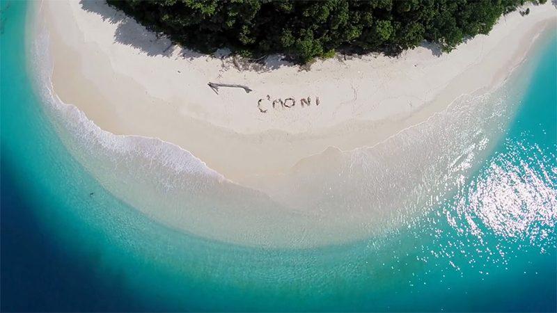 インドネシア・スマトラ沖に浮かぶムンタワイ諸島