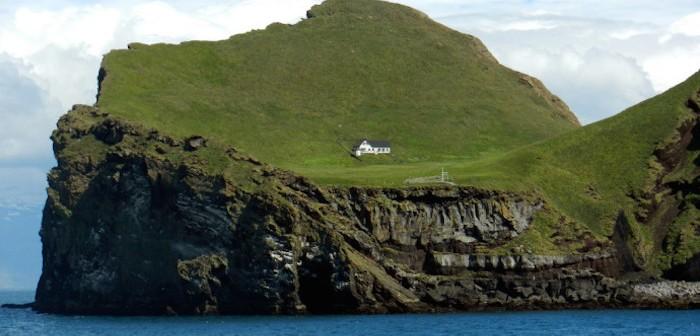 アイスランド・ヴェストマン諸島にある『エリデイ島』