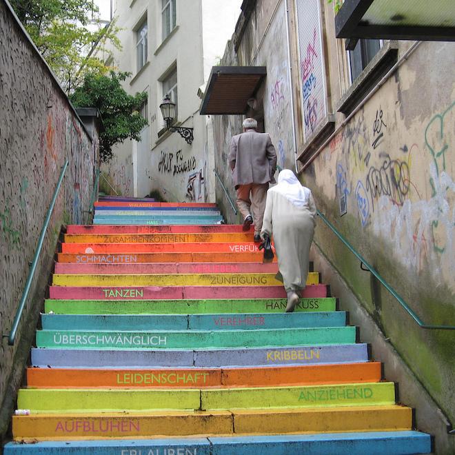 虹色の階段3