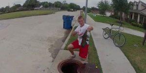 テキサス州で流行中の釣り動画