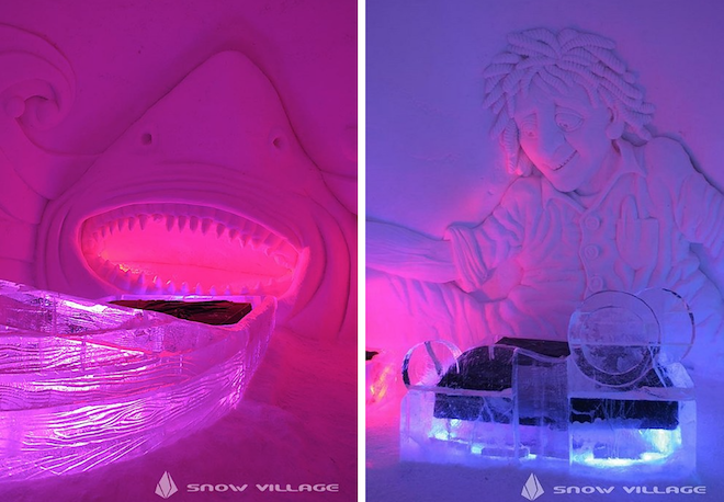 The SnowVillage Snow Hotel(フィンランド)