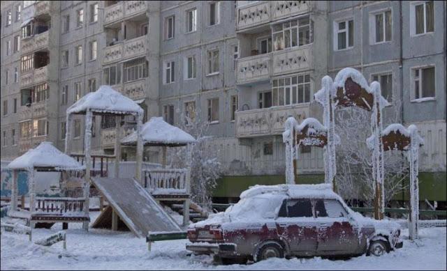 """平均気温マイナス50℃!""""世界で一番寒い村""""の称号を持つロシア・オイミャコン村"""