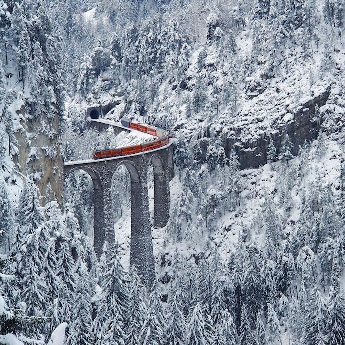 寒さを忘れるぐらい圧倒される世界の雪景色18