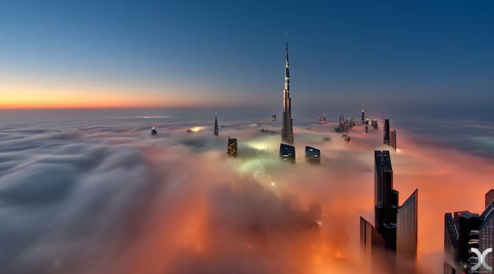 近未来的な美しさを持つドバイの超高層ビル群5