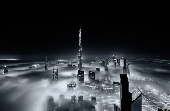 近未来的な美しさを持つドバイの超高層ビル群6