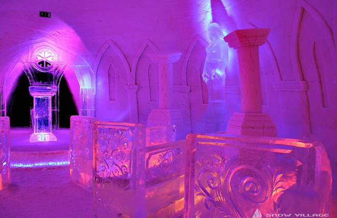 The SnowVillage Snow Hotel(フィンランド)3