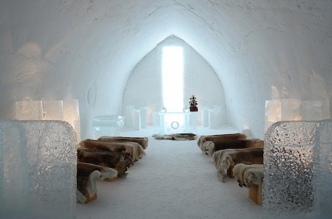 The SnowVillage Snow Hotel(フィンランド)2