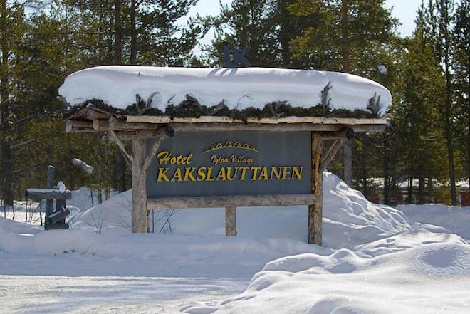 The Kakslauttanen Arctic Resort(サーリセルカ・フィンランド)2