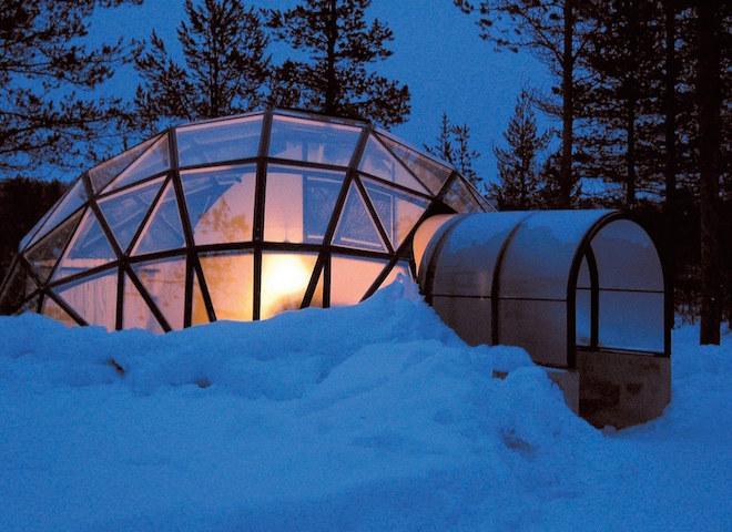 The Kakslauttanen Arctic Resort(サーリセルカ・フィンランド)3
