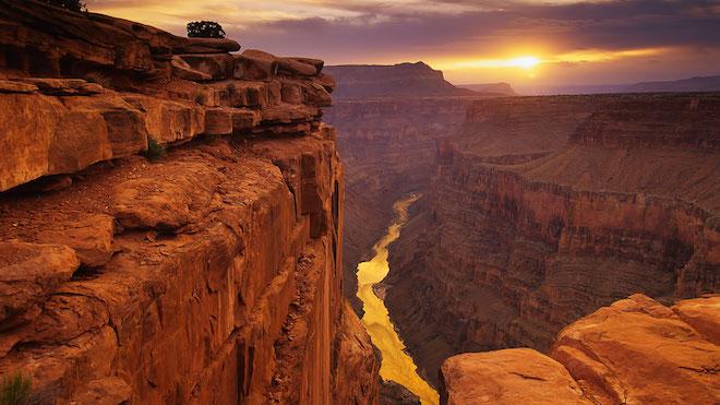 世界一巨大な峡谷:グランド・キャニオン(アメリカ)