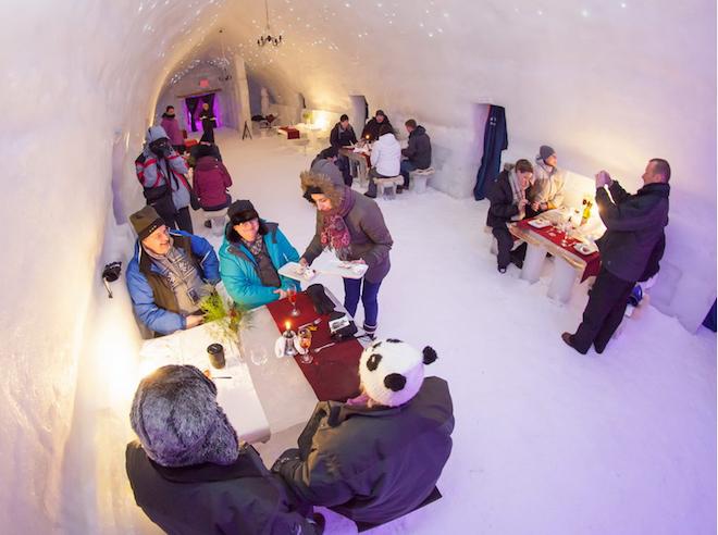 Balea Ice Hotel(ルーマニア)2