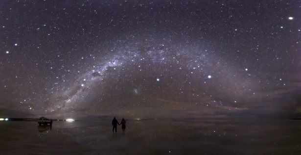 世界で最も平らな場所 – ウユニ(ボリビア)