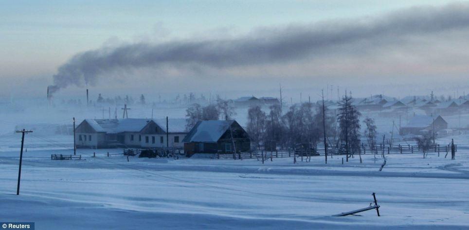 """気温マイナス60℃!""""世界で一番寒い村""""の称号を持つロシア・オイミャコン村-1"""