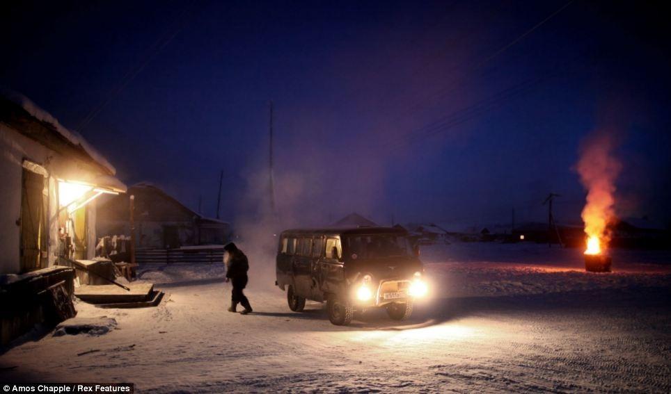 """平均気温マイナス50℃!""""世界で一番寒い村""""の称号を持つロシア・オイミャコン村5"""