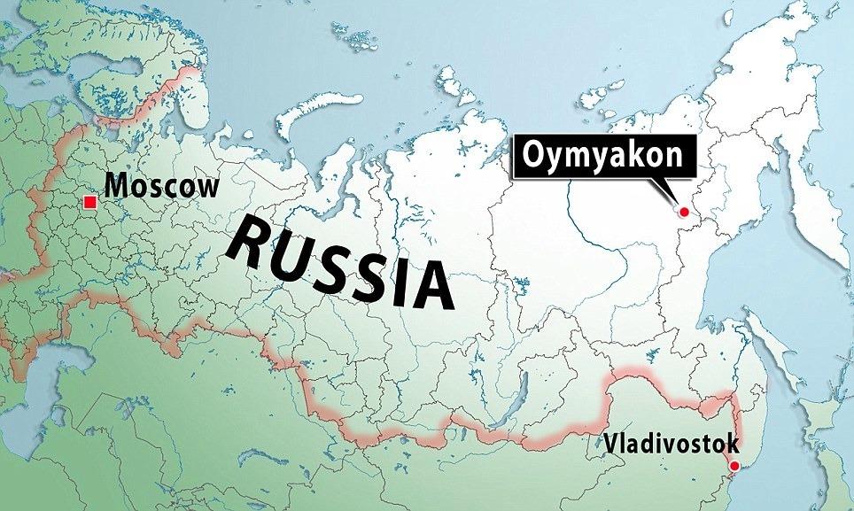 """気温マイナス60℃!""""世界で一番寒い村""""の称号を持つロシア・オイミャコン村"""