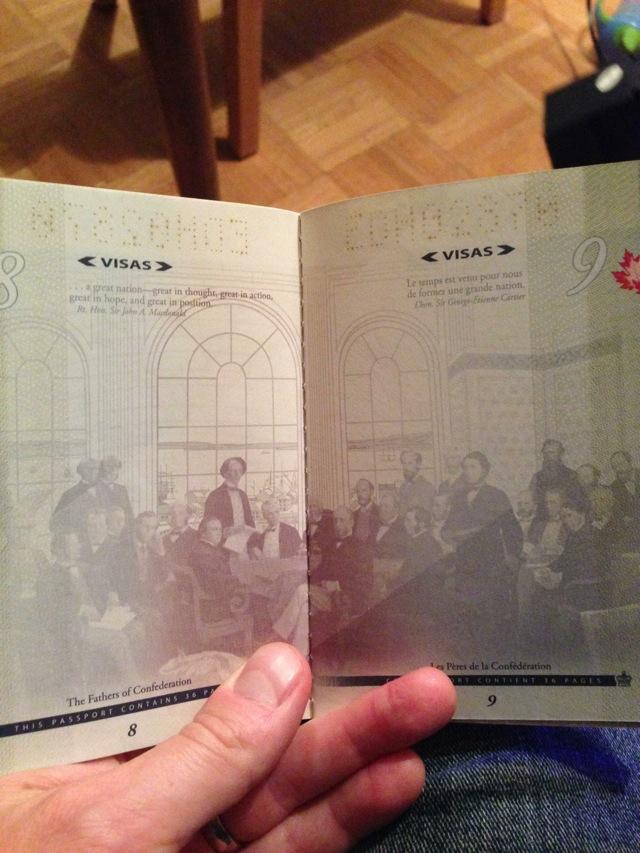 カナダの新パスポートに隠された秘密がオシャレすぎる!007