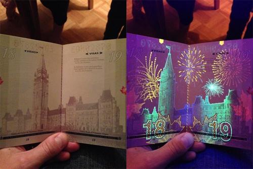 カナダの新パスポートに隠された秘密がオシャレすぎる01