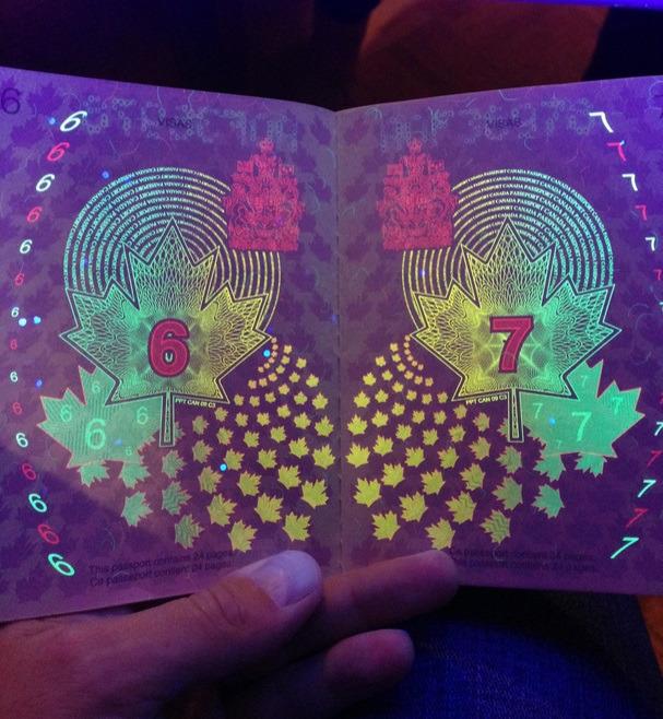 カナダの新パスポートに隠された秘密がオシャレすぎる!1