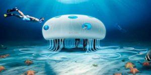 世界初の試み!ソニーのスマートフォンショップが海の中にオープン