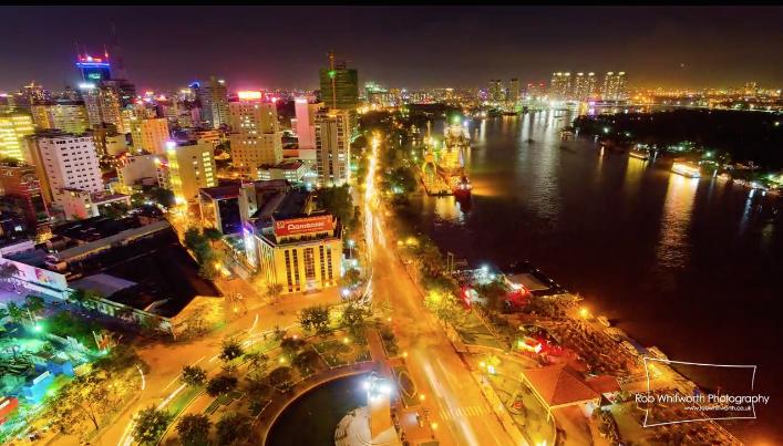 ベトナム、ホーチミン市の美しすぎるタイムラプス映像『Traffic in Frenetic HCMC, Vietnam』2