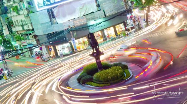 ベトナム、ホーチミン市の美しすぎるタイムラプス映像『Traffic in Frenetic HCMC, Vietnam』