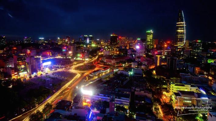 ベトナム、ホーチミン市の美しすぎるタイムラプス映像『Traffic in Frenetic HCMC, Vietnam』3