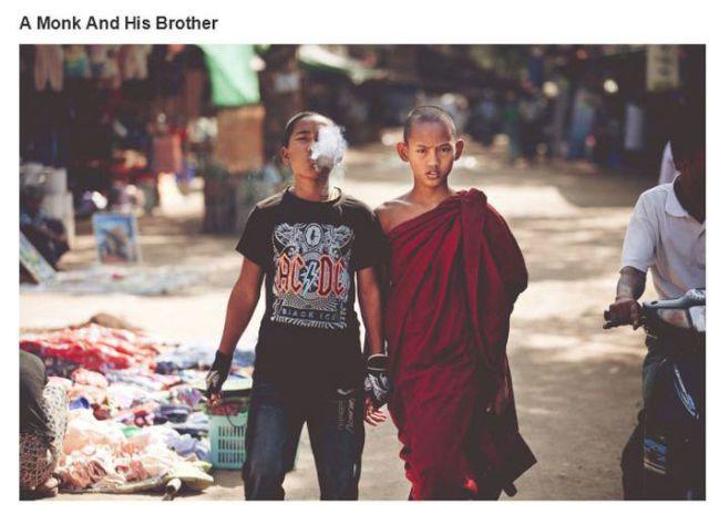 修道士とその兄弟