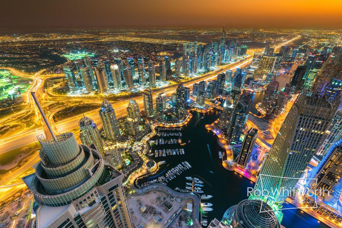 まさに世界トップクラスのタイムラプス作品Dubai Flow Motion