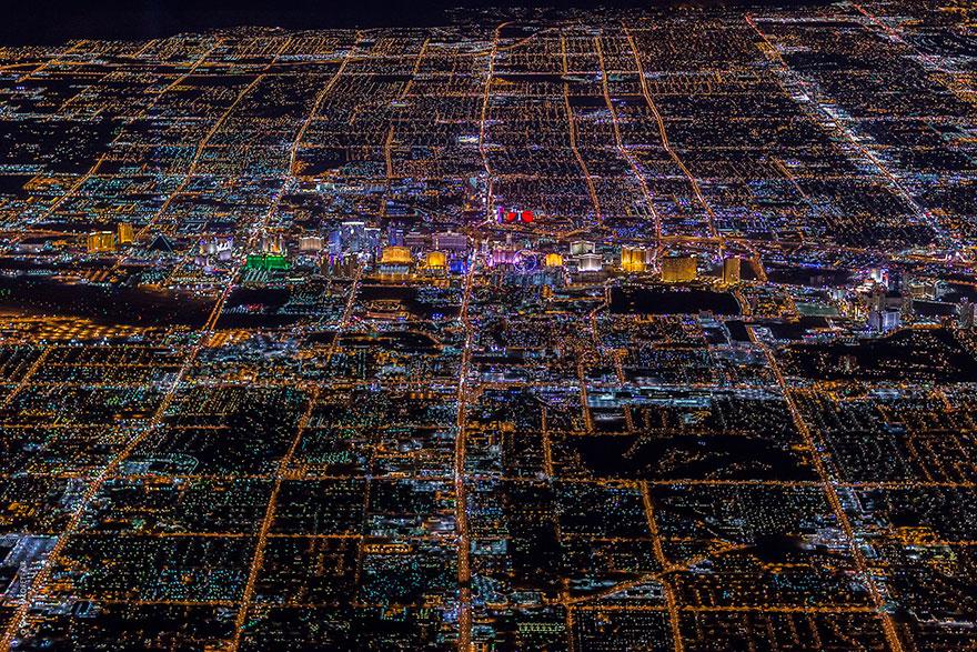 ラスベガスの夜景10