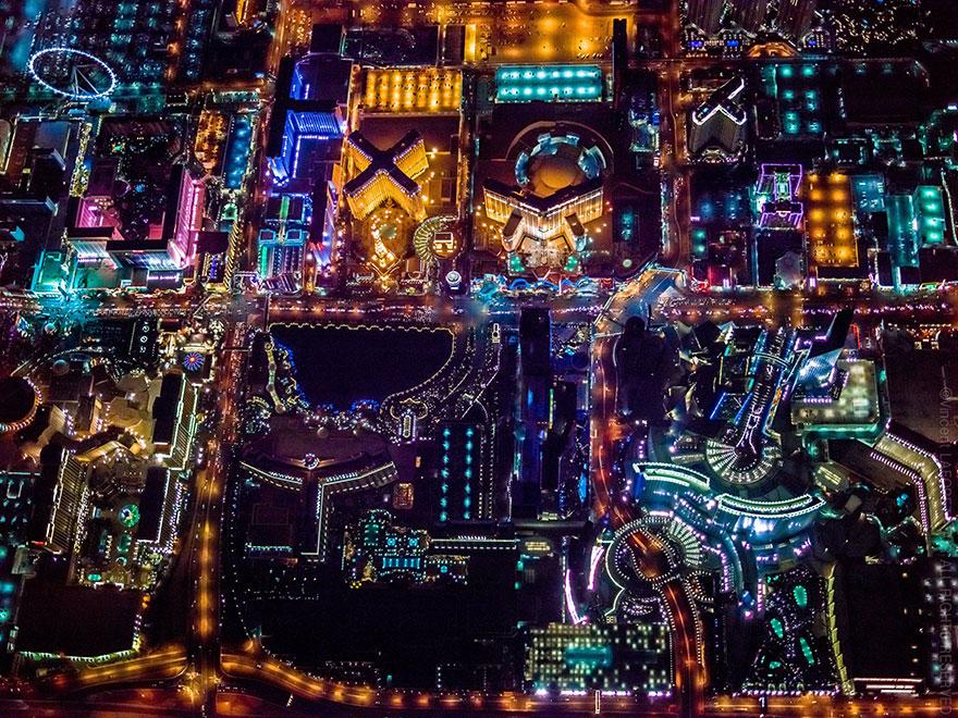 ギャンブルとエンターテインメントの街!圧倒的な美しさを持つラスベガスの夜景