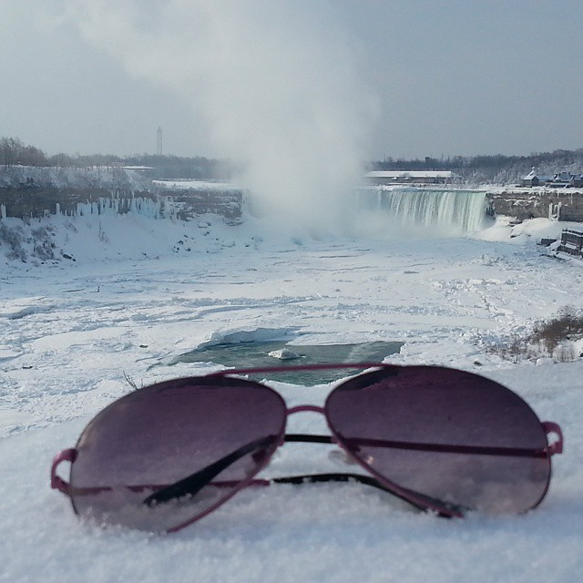 ナイアガラの滝までも凍る6