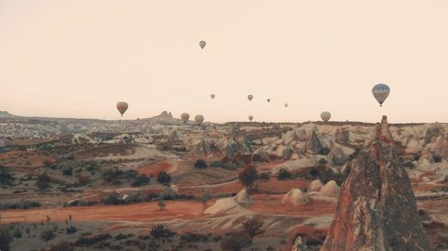 トルコ旅を撮影した旅動画