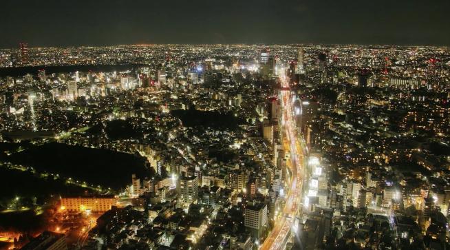 イギリス人が撮影した東京の街並