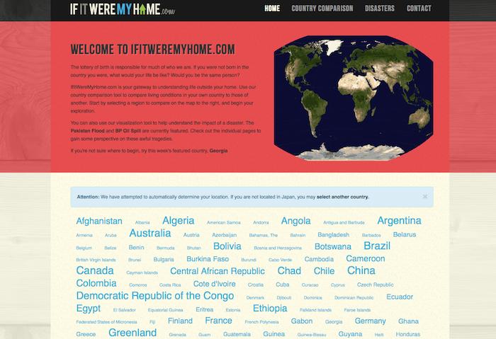 国土や就職率、社会保険を比較できるサイト「If It Were My Home」-02