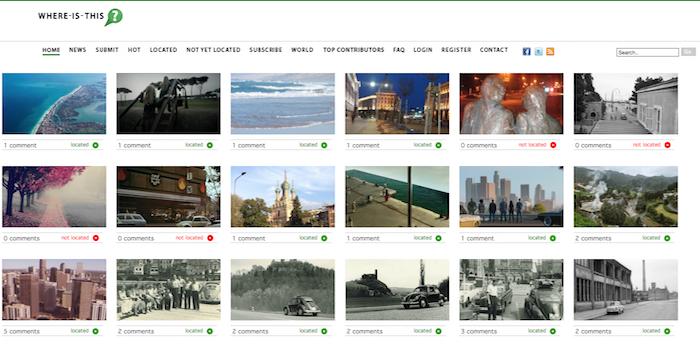 画像から景色の場所をみんなで考えるWebサービス「WHERE IS THIS ?」