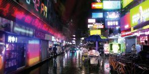 近未来のバンコクを描いたSF映像「TRUE SKIN」