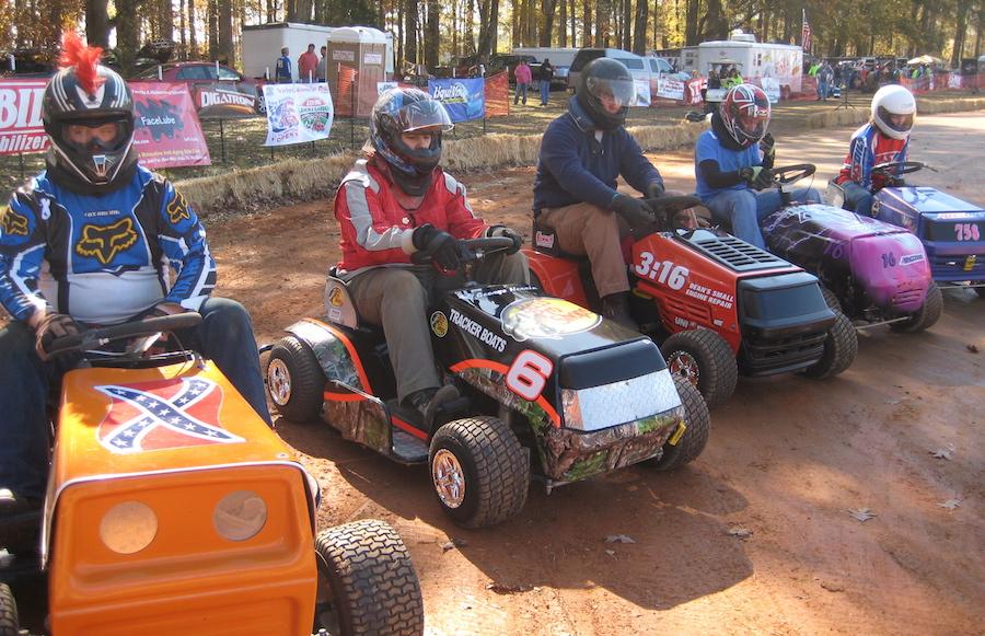 芝刈り機レース