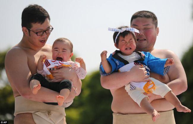赤ちゃん泣き声コンテスト