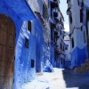 幻想的なおとぎの世界、モロッコの青で彩られた街『シャウエン』