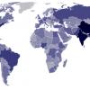 """実はあまり知られていない?世界の人口の""""少ない""""国ランキング"""