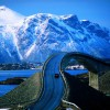 ノルウェーにある世界で最も美しいと言われる道路『アトランティック・オーシャン・ロード』