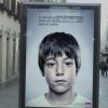 子どもにしか見えない秘密のメッセージが書かれた広告【スペインの児童虐待防止広告】