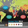 8億以上もの人びとが栄養不足、世界の飢餓状況が一目でわかる「ハンガーマップ2014」